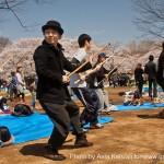 Parc Yoyogi à Tokyo - art martiaux