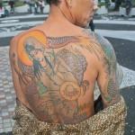 Parc Yoyogi à Tokyo - tatouages