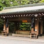 Sanctuaire Meiji Jingu -  eau