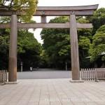 Sanctuaire Meiji Jingu - entrée