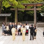 Sanctuaire Meiji Jingu - mariage shinto