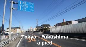 Tokyo – Fukushima à pied : premiers pas dans la région