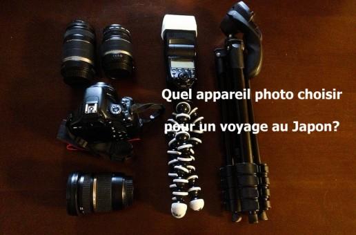 Quel appareil photo choisir pour un voyage au Japon ?