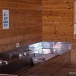 camping en bord de lac Saiko Mont Fuji - cuisine