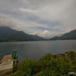 camping en bord de lac Saiko Mont Fuji - lac sai