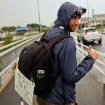tokyo fukushima à pied - abdoul