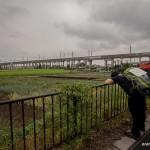 tokyo fukushima à pied -  fatigue quand tu nous tiens