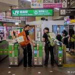 tokyo fukushima à pied - on prend le shinkansen