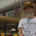 tokyo fukushima à pied - vieu au chapeau de paille