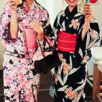 yukata kimono dété au Japon 8