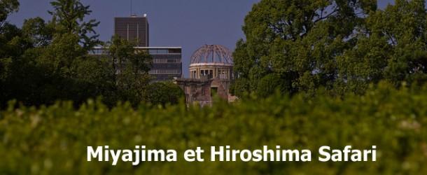 Miyajima et Hiroshima Safari : dans les rues de la ville avec Yann