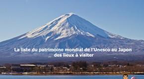 Patrimoine mondial de l'Unesco au Japon : des lieux à visiter