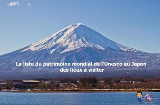 La liste du patrimoine mondial de l'Unesco au Japon : des lieux à visiter