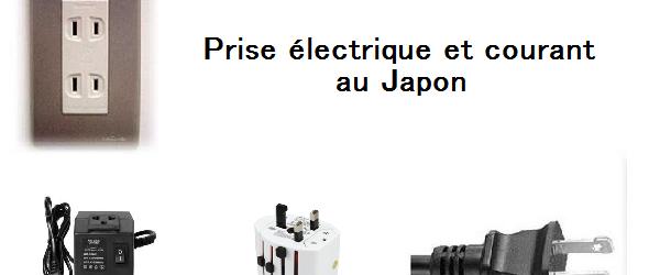 Prise électrique et courant au Japon