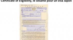 Certificate of Eligibility, votre sésame pour un Visa Japon