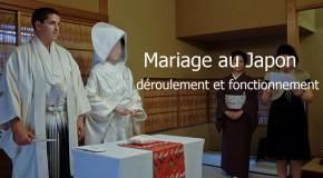 Mariage japonais: déroulement et fonctionnement