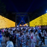 Mitama Matsuri la fête des lanternes à Yasukuni Tokyo (3)