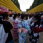 Mitama Matsuri la fête des lanternes à Yasukuni Tokyo (6)