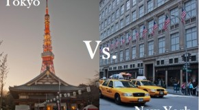 Comparatif Tokyo / New-York, lequel est le moins cher