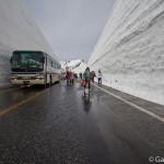 Route Alpine de Tateyama Kurobe Japon (2)