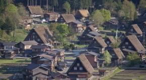 Shirakawa-go, patrimoine UNESCO aux maisons traditionnelles