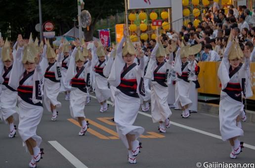 Tokushima Awa Odori, la danse des fous
