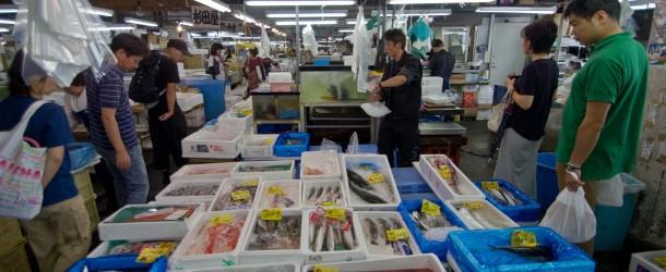 Adachi Shijyo, marché aux poissons à Tokyo
