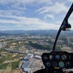 Hélicoptère à Kanazawa Japon (1)