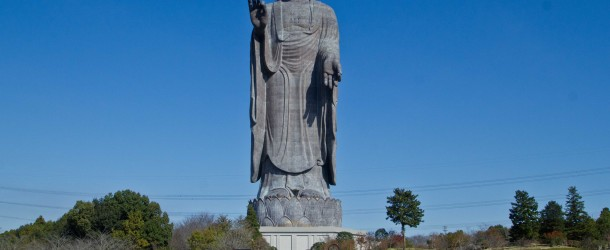 Ushiku Daibutsu, l'ex-plus grand Bouddha du monde