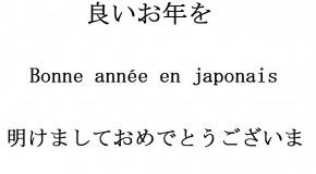 Bonne année en japonais, comment la souhaiter