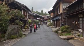 Tsumago-juku, sur la route du Nakasendo