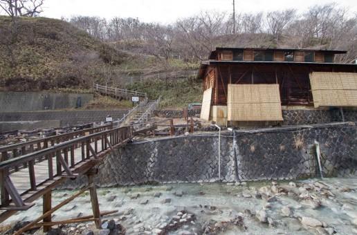 Shika no Yu Onsen à Nasu, les bains du cerf