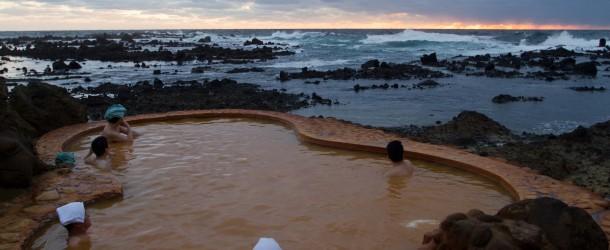 Furofushi Onsen, un bain en bord de mer du Japon
