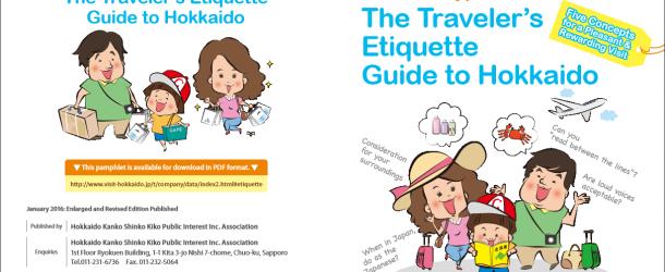 Hokkaido édite un nouveau guide pour les touristes étrangers