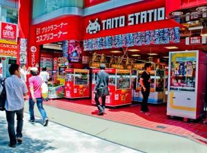 akihabara tokyo game taito station