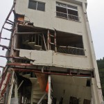 kamaishi iwate tohoku after tsunami damaged building, kamaishi iwate tohoku après le tsunami bâtiment détruit