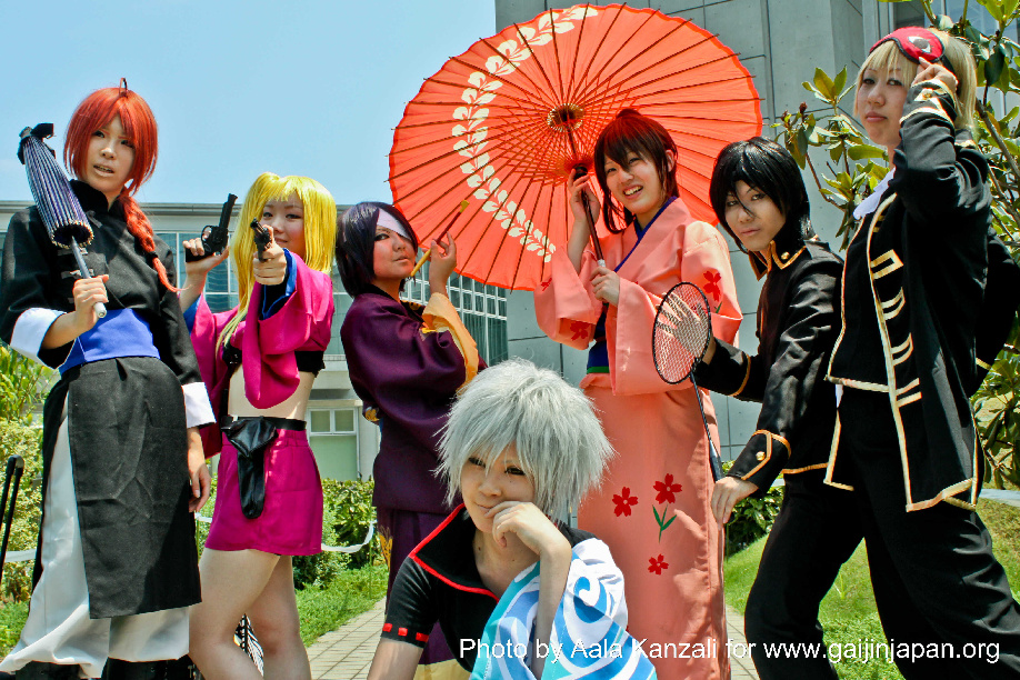 Comiket 80 - Tokyo Big Sight - Août 2011 - cosplayer group