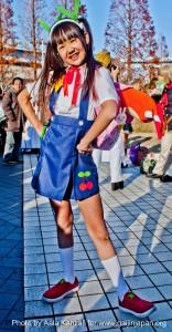 comiket 81 tokyo japan - kawaii girl