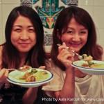 hannibal restaurant harajuku tokyo - saori & azusa
