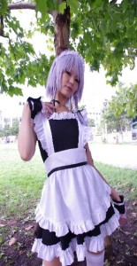 interview cosplayer maid