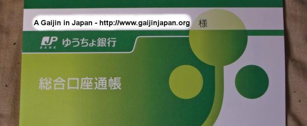 J'ai ouvert un compte bancaire au Japon