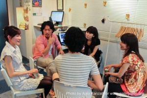 Leafcup Yokohama English Chat Table