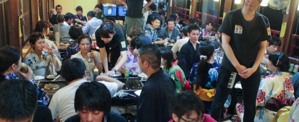 Leafcup Yukata de Yakatabune Party