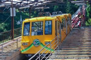 mt mitake mt hinode hiking & onsen - cable car