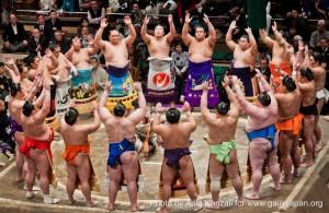 sumo tournament - ryogoku - tokyo - japan - ceremony, cérémonie