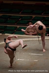sumo tournament - ryogoku - tokyo - japan - sumo