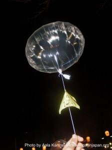 zojoji temple tokyo new year in japan balloon
