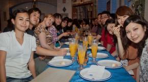 Ma soirée de départ dans un restaurant Tunisien à Tokyo