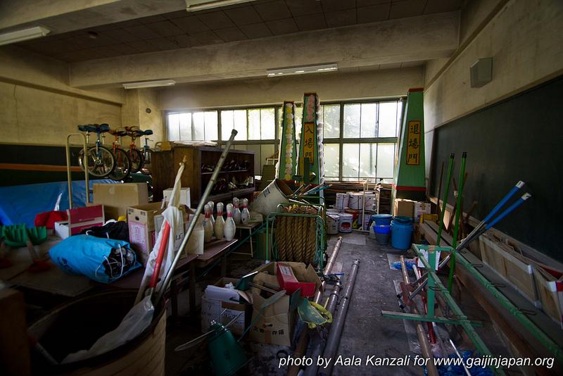 ashiomachi ecole abandonnée au japon - abandoned school - sports
