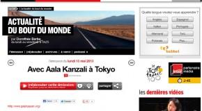 Mon interview actualités sur France Inter